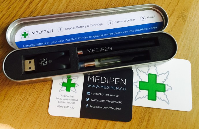 NHS testing a cannabis product for the first time – MediPen